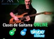 Clases guitarra eléctrica y criolla - online skype, zoom, etc...
