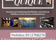 Amigo Quique 3512768276  envíos pedidos a domicilio de bebidas en barrio cofico