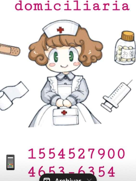 Enfermeros a domicilio / enfermería domiciliaria / enfermeras