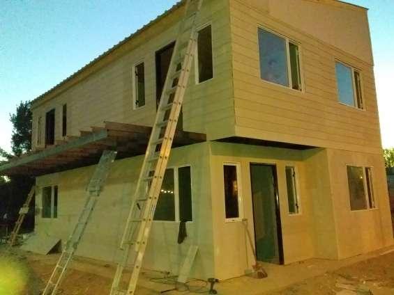 Zabala construcciones prefabricadas industrializadas madera también estructuras metalicas