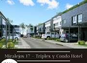MIRALEJOS 17, EN VILLA CARLOS PAZ, NUEVO PROYECTO DE DEPARTAMENTOS TRIPLEX & CONDO HOTEL .